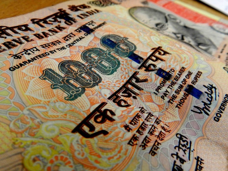 Trade Indian Rupee against bitcoin