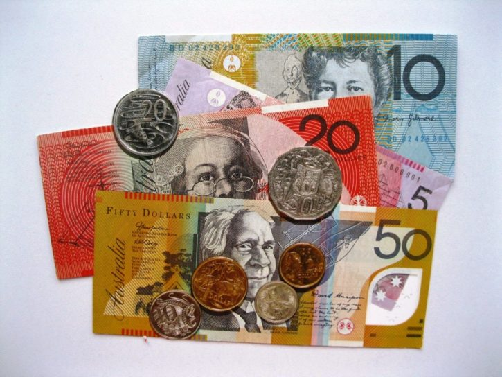 Trade Australian Dollard against Bitcoin