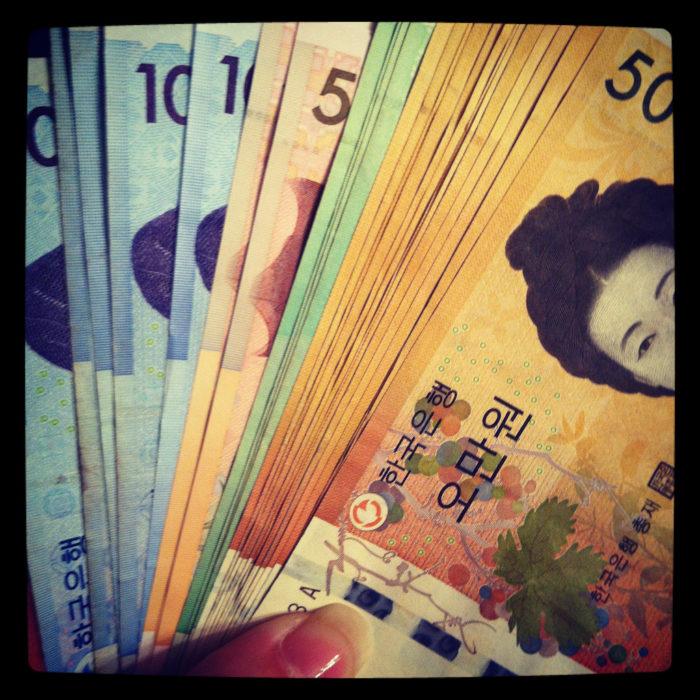 Trade Korean Won against bitcoin