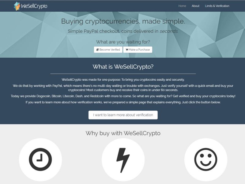 WeSellCrypto com Review 2019 – Scam or Not?