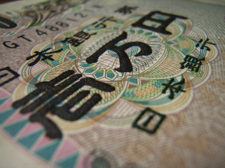 Trade Japanese Yen against bitcoin