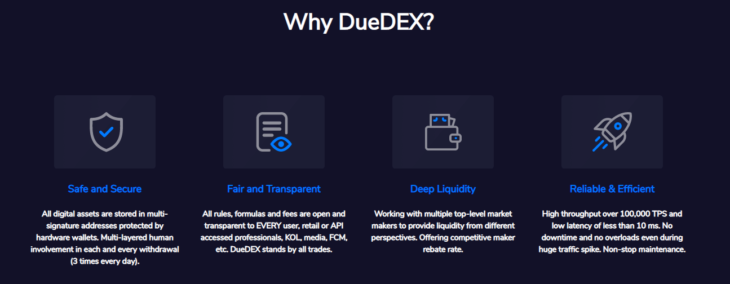 Why DueDEX