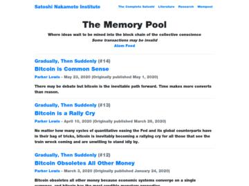 The Memory Pool