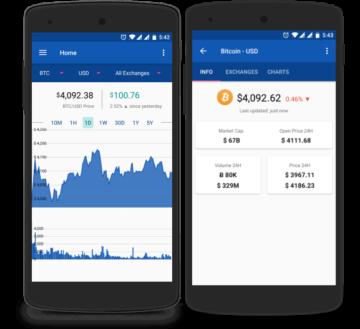 Acrypto mobile app