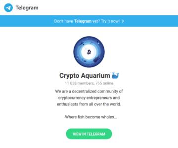 cryptoaquarium chat