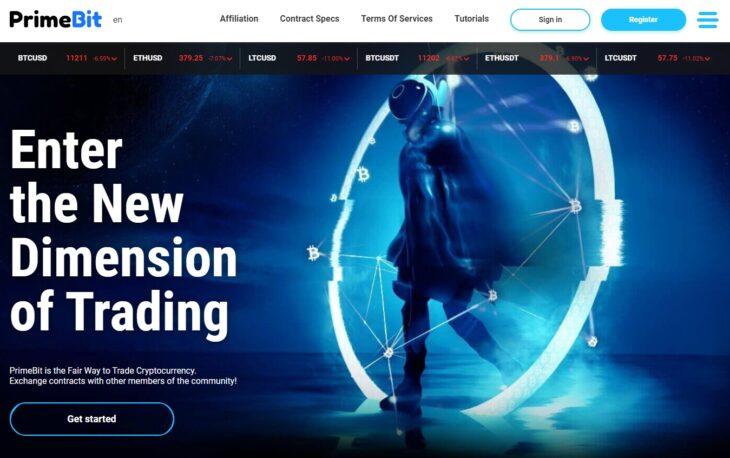 PrimeBit Homepage